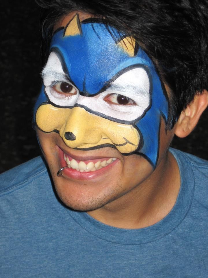 Sonic By Faces By Juliet Https Www Facebook Com Faces By Juliet Kids Face Paint Face Painting Face Painting Designs