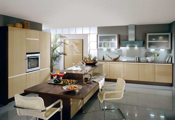 k che in braun offenek che braune k chen pinterest brown kitchens. Black Bedroom Furniture Sets. Home Design Ideas