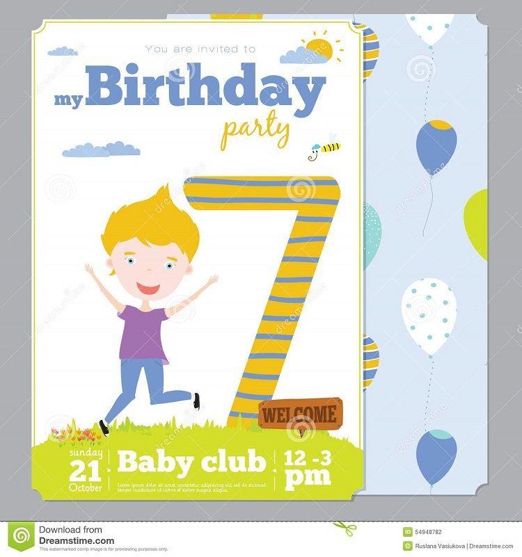 vector birthday invitation note sample Buick Pinterest