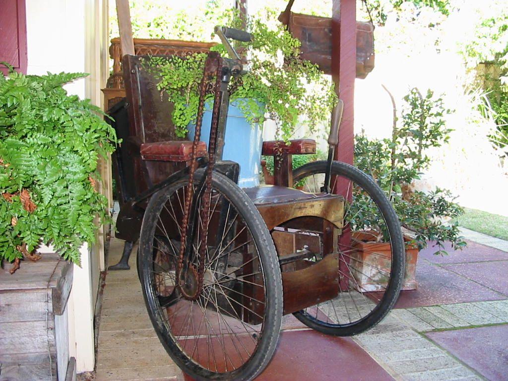 Antique Wheelchair. - Antique Wheelchair. Gargoyle Pinterest