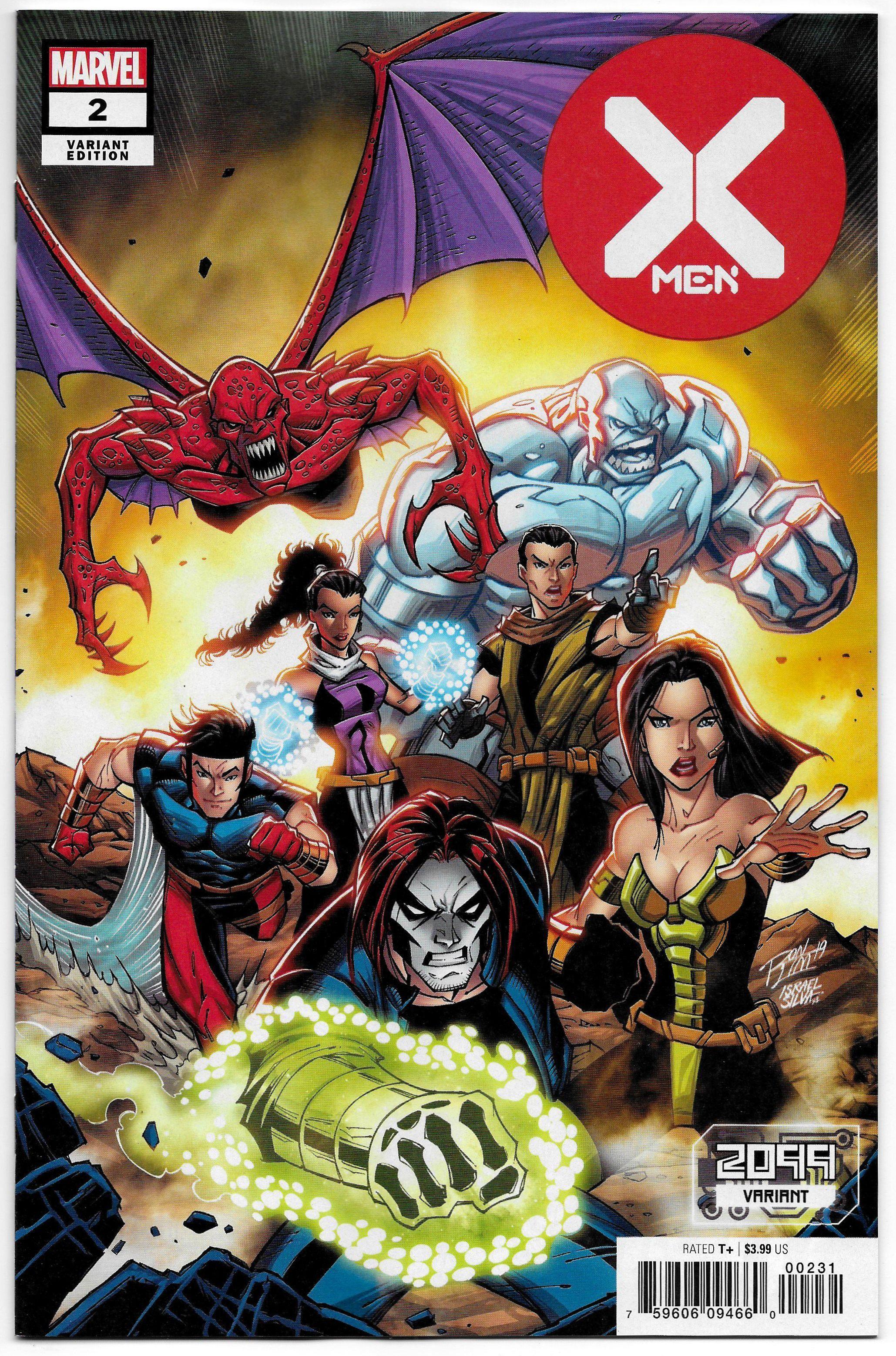 X Men 2 Lim 2099 Variant Marvel 2020 Nm Comics X Men Xmen Comics