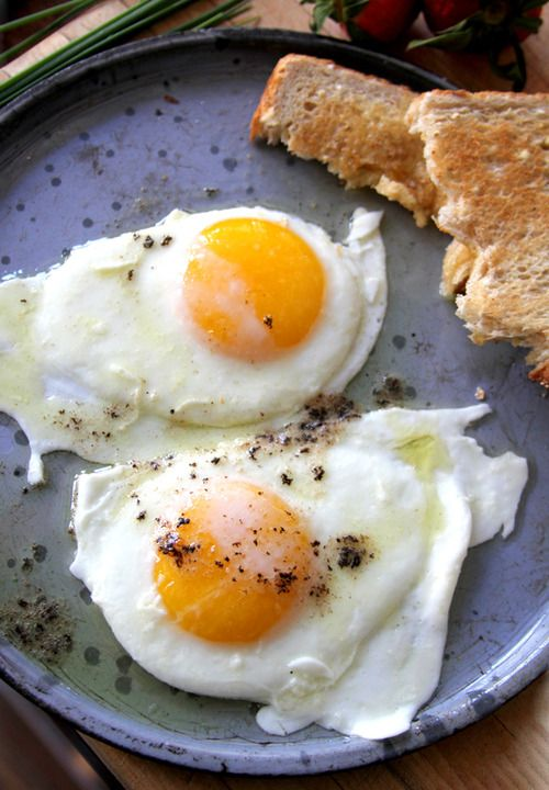 buttery eggs