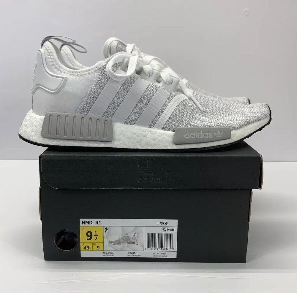premium selection 5789a bfc0b Adidas Originals NMD R1 - B79759 - White Grey Black - MENS Size 9.5  fashion   clothing  shoes  accessories  mensshoes  athleticshoes (ebay link)