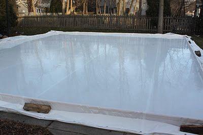 my best friend craig: DIY: BUILDING AN ICE SKATING RINK ...