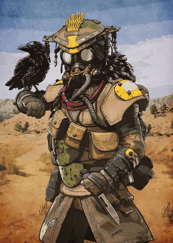 "Apex Legends Characters Bloodhound #Displate explore Pinterest""> #Displate artwork by artist ""Durro Art"". Part… 