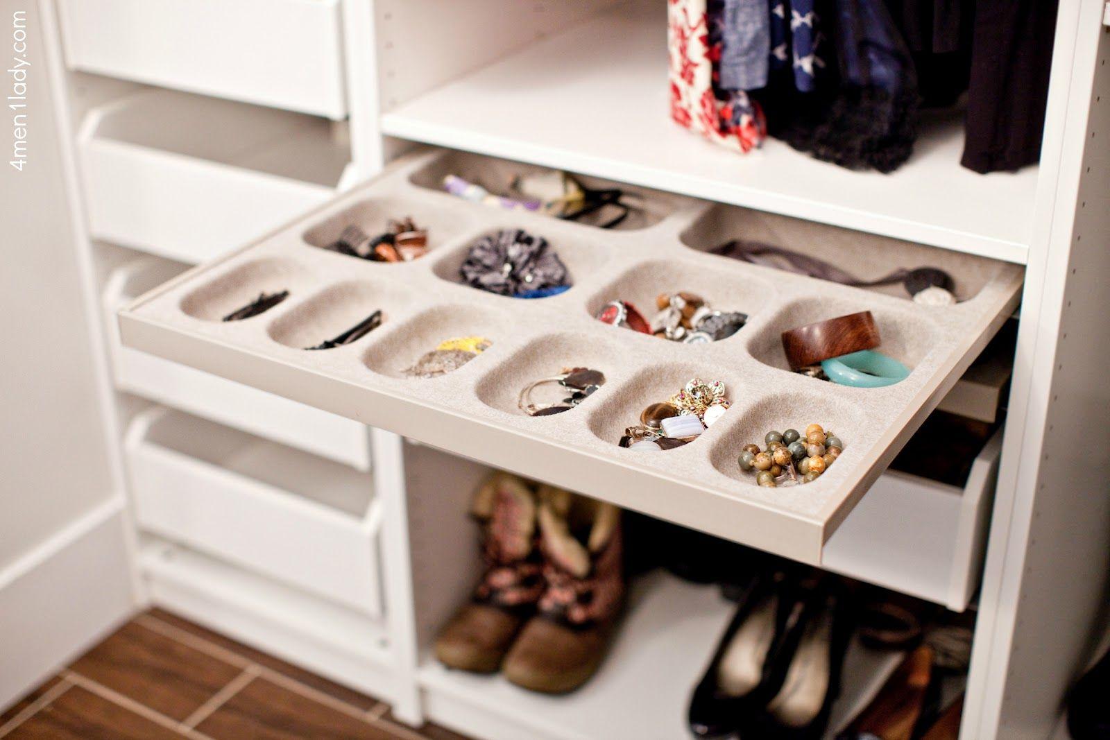 Jewelry ClosetJewellery StorageJewelry U2026 17 Best Images About Storage On  Pinterest | Jewelery, Boot Organization And Closet