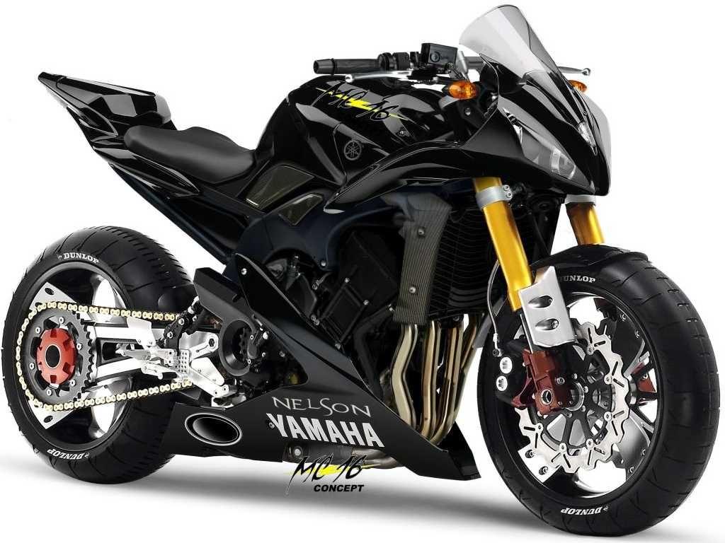 yamaha mc16 concept motorcycle motorr der pinterest. Black Bedroom Furniture Sets. Home Design Ideas