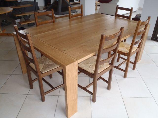 Table Contemporaine Par David Table Contemporaine Table En Chene Table