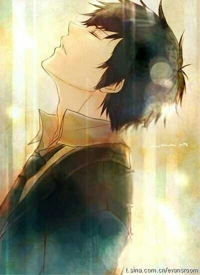 Photo of I think he smells cookies. Or something else. But it's sure awesome. ~ #anime