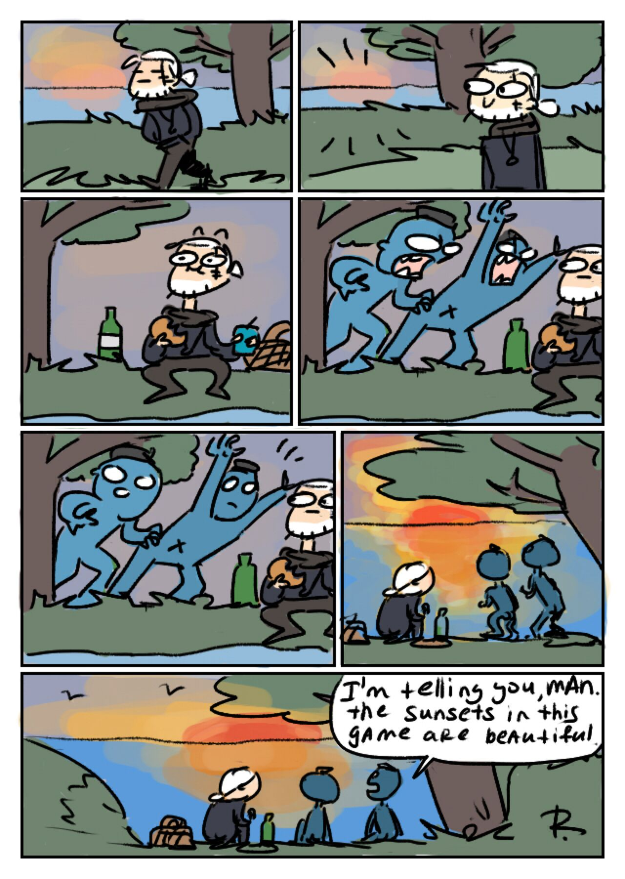 The witcher 3 doodles 219 by ayej on deviantart im a gamer the witcher 3 doodles 219 by ayej on deviantart solutioingenieria Gallery