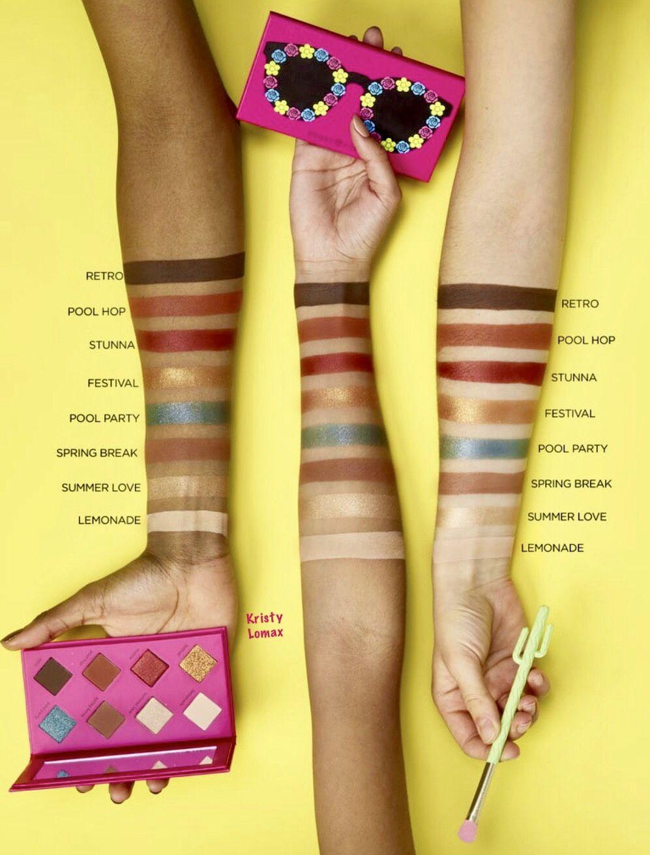 TARTE X SUGAR RUSH SWATCHES Sugar rush, Makeup skin care
