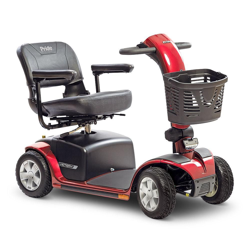 Pride Victory 10 4Wheel SC710 Power Scooter (With