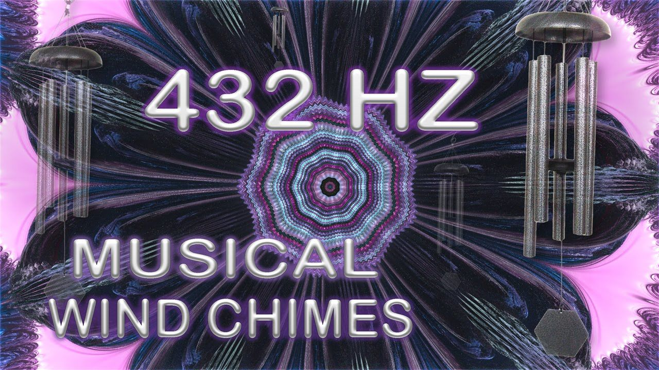 Wind Chimes Relaxation Meditation 432HZ ☯ 20 Minutes