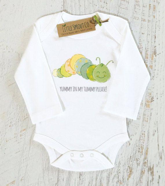 Baby Gender Neutral Certified Organic Cotton Bodysuit Teething