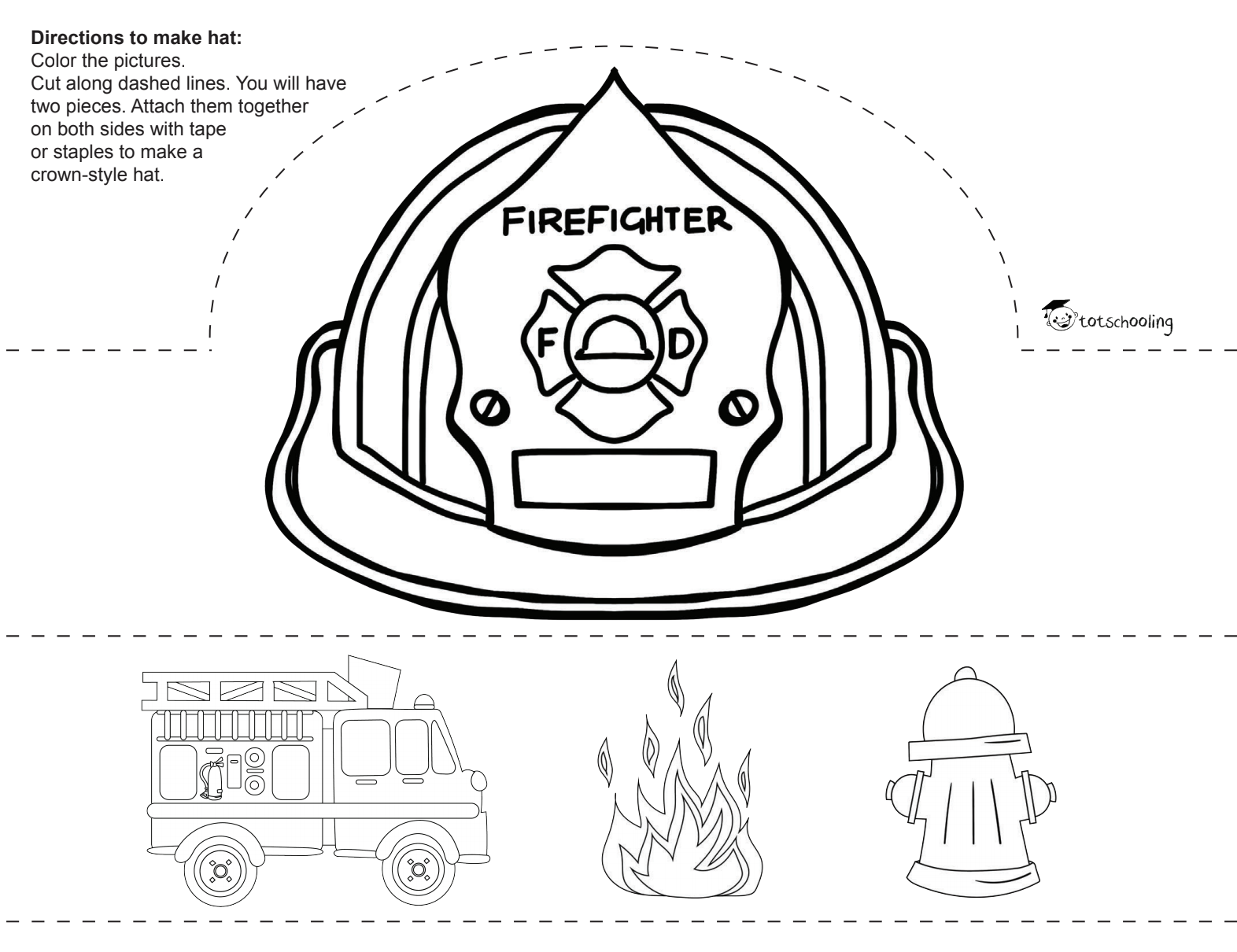 Firefighter Hats In