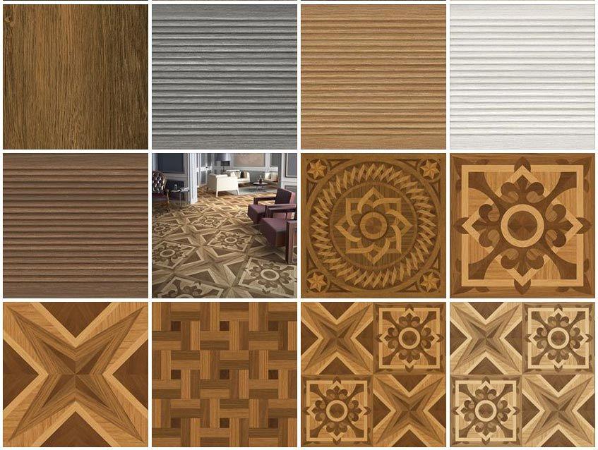 Wooden Wall Tiles Texture