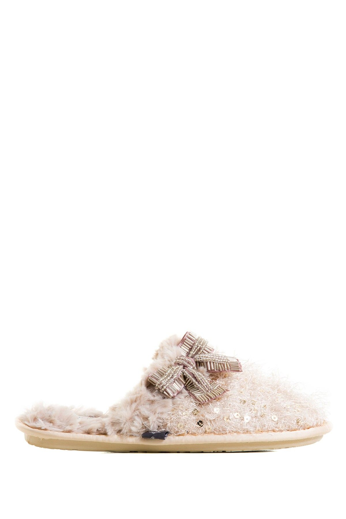 cbc7d42696f2e9 Iris Faux Fur Mule by Pretty You London Slippers