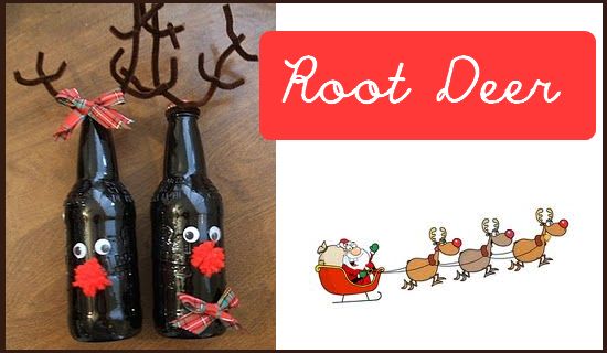 Nap Time Crafters: Root Deer