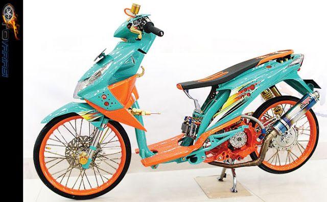 Modifikasi Motor Honda Beat Model Thailook Thailand Look Motor Honda Motor Honda