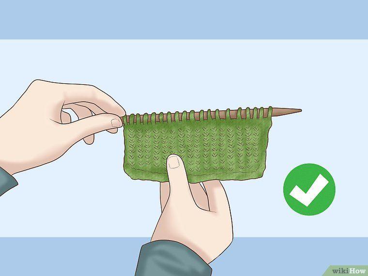 End knitting a scarf knitting yarn needle last stitch