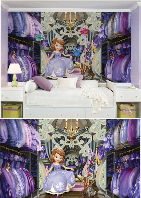 Disney Princess Sofias Closet XL Wall Mural - Wall Sticker Outlet ...