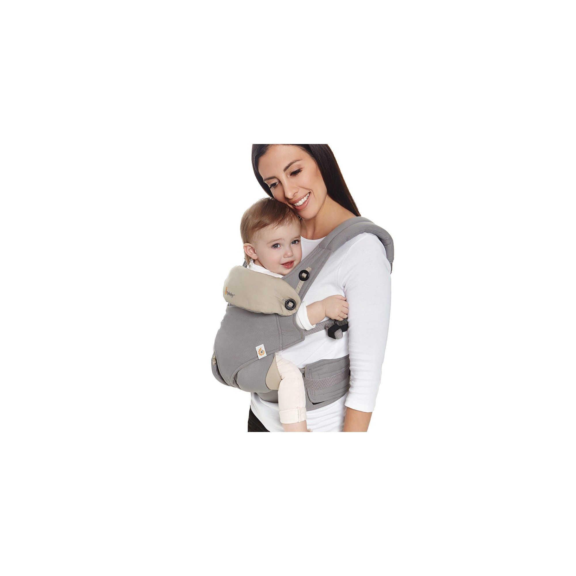 055b226673a Ergobaby 360 All Carry Positions Ergonomic Baby Carrier with Bundle of Joy  Infant Insert - Gray