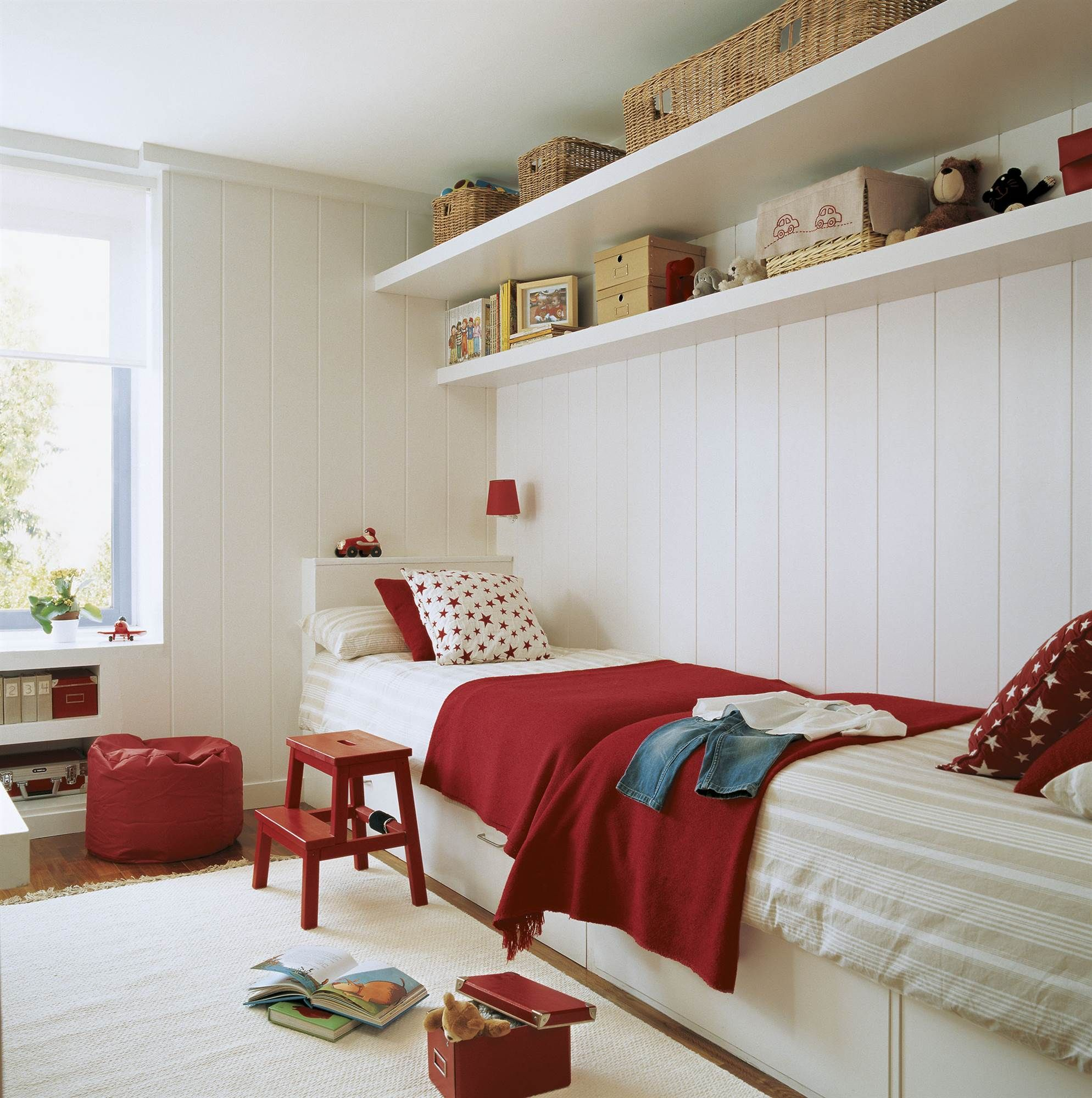 Dormitorios Infantiles Decoracion Actual Y Alegre Cortinas Pinterest