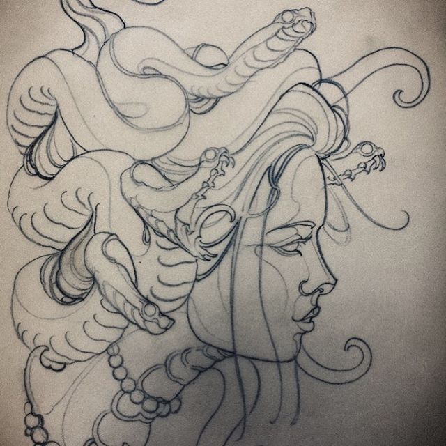 Pin By Allyson Kasper On Art Medusa Tattoo Tattoo