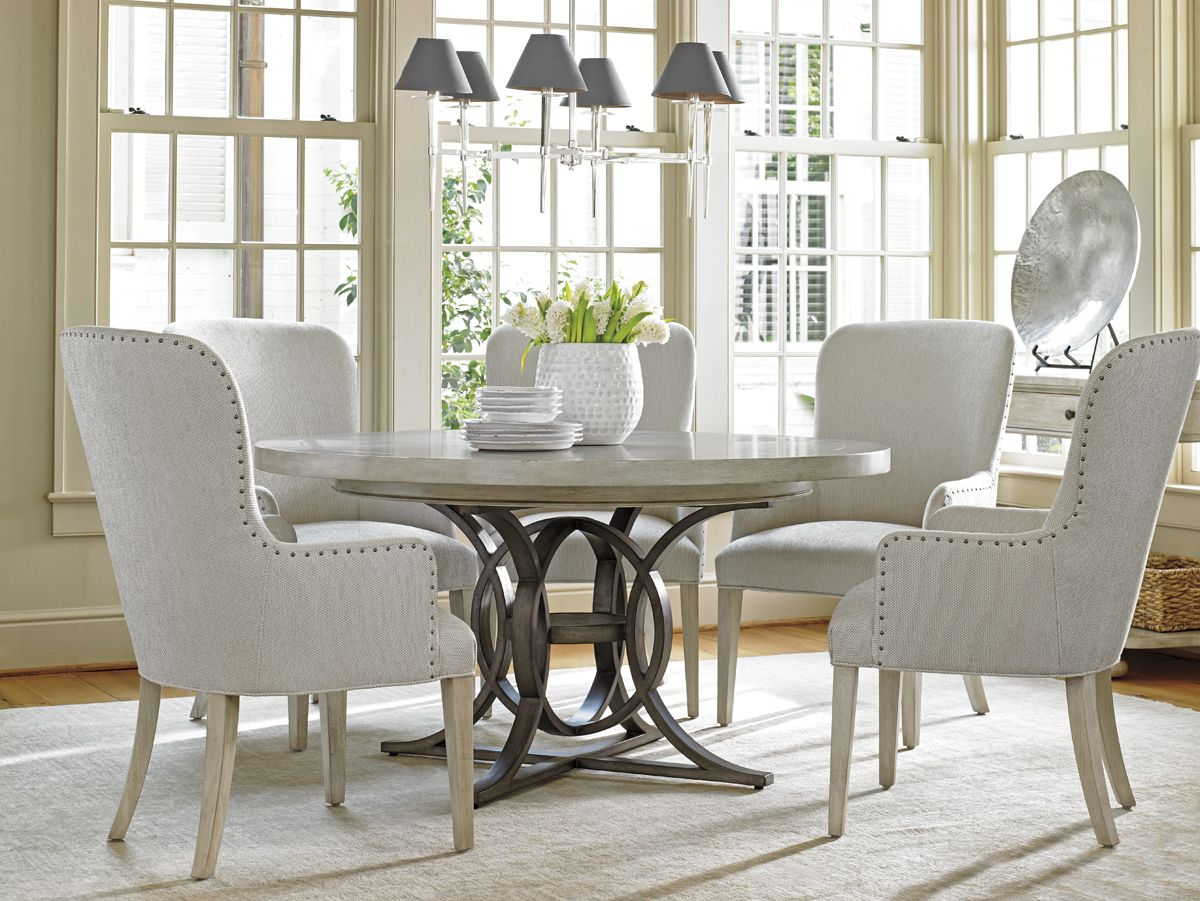 oyster bay calerton round dining table lexington home brands kitchens pinterest round. Black Bedroom Furniture Sets. Home Design Ideas