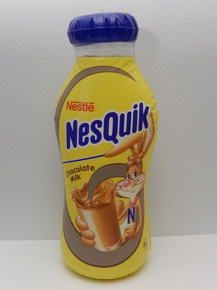 Nestle nesquik chocolate milk blow up display 1897 3376 nestle nestle nesquik chocolate milk blow up display 1897 sciox Choice Image