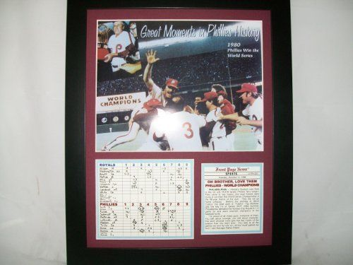 11x14 Framed 1980 World Series Champions Philadelphia