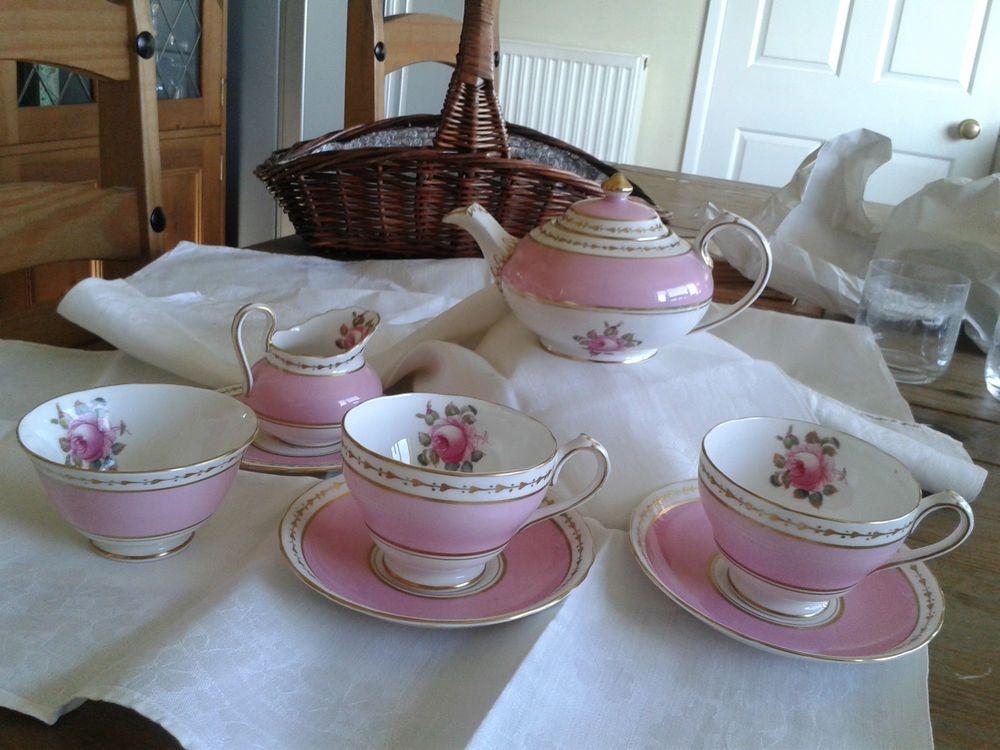Gorgeous Tea for Two 'New Chelsea' Bone China Teaset