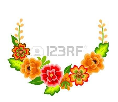 Resultado De Imagen Para Guarda Con Flores Mexicanas Mexican Flowers Flowers Royalty Free Images