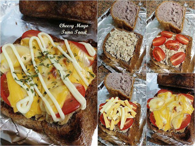 Cuisine Paradise   Singapore Food Blog - Recipes - Food Reviews - Travel: Cheesy Mayo Tuna Toast