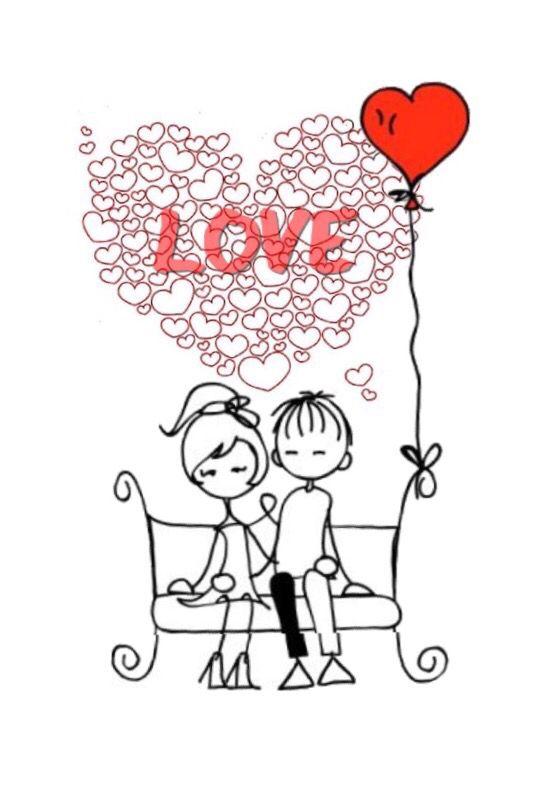 21 Love 36 Pareja Novios Sentados En Una Banca Dibujo De Parejas Fotos De Parejas Besos Y Abrazos
