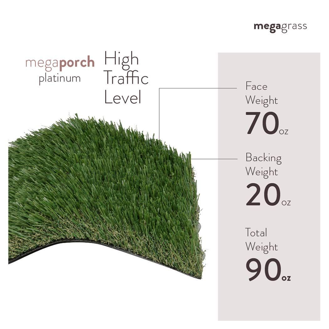 Megaporch Platinum Can Withstand Areas With High Traffic Levels Megagrass Megaporch Megaya Artificial Grass Fake Grass Backyard Artificial Grass Backyard