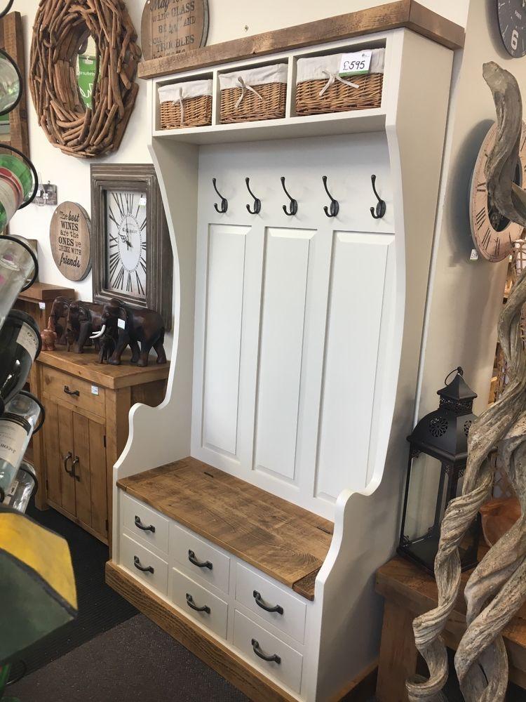 Coat Rack Hooks Shoe Storage