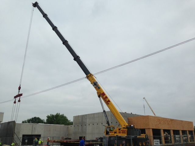 Pat Obrien Chevy >> Walls Going Up At Pat Obrien Chevrolet In Medina Chevy Medina