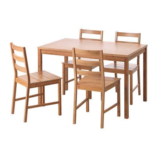 Finede Tisch Und 4 Stuhle Bambus Ikea Deutschland Esszimmer
