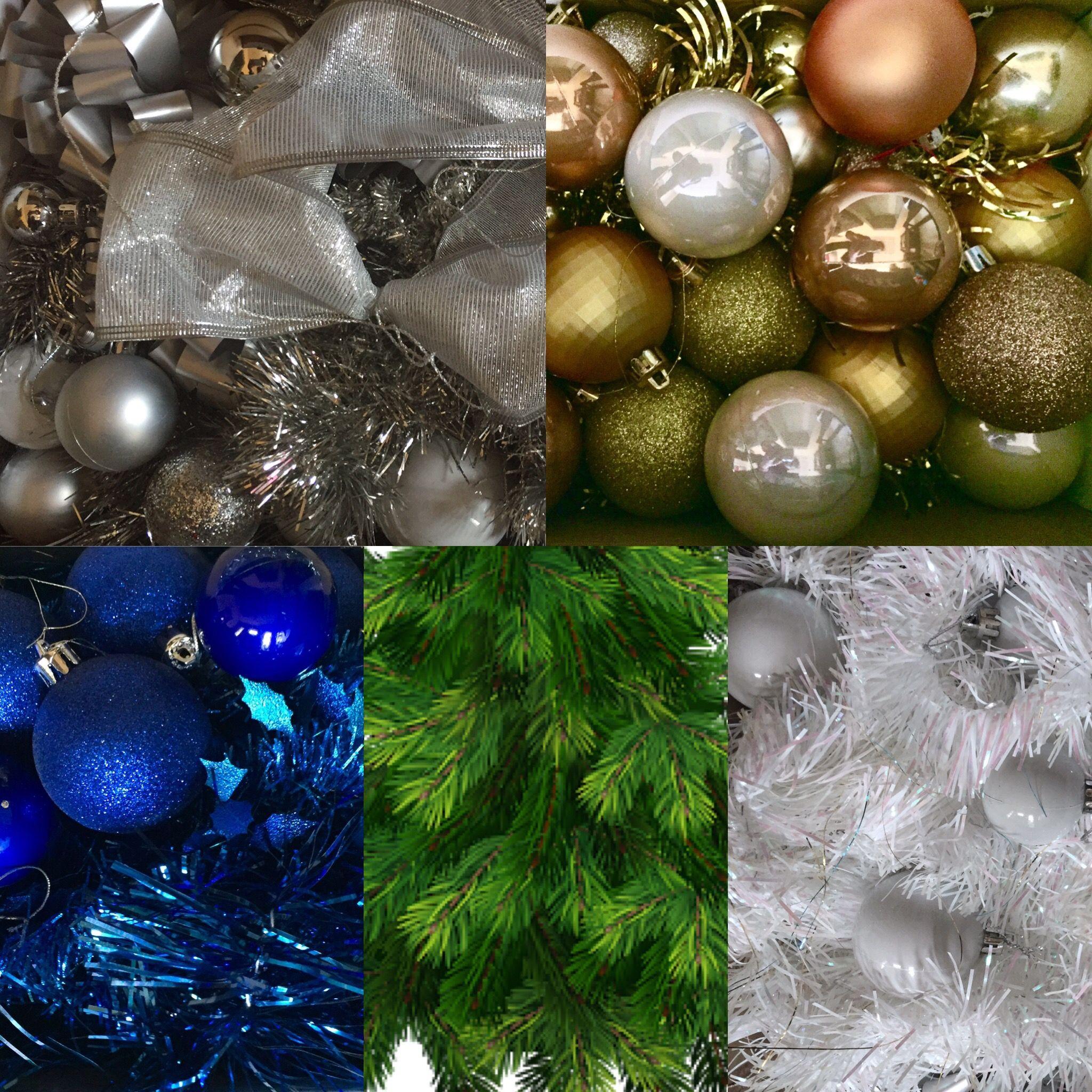 Christmas tree decoration colour scheme :) | That Christmassy ...
