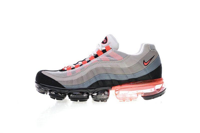 separation shoes 41dca 5f6bf 2018 Genuine Nike Air Max 95 Vapormax Aj4970 010 609048 106 Solar Red Shoe