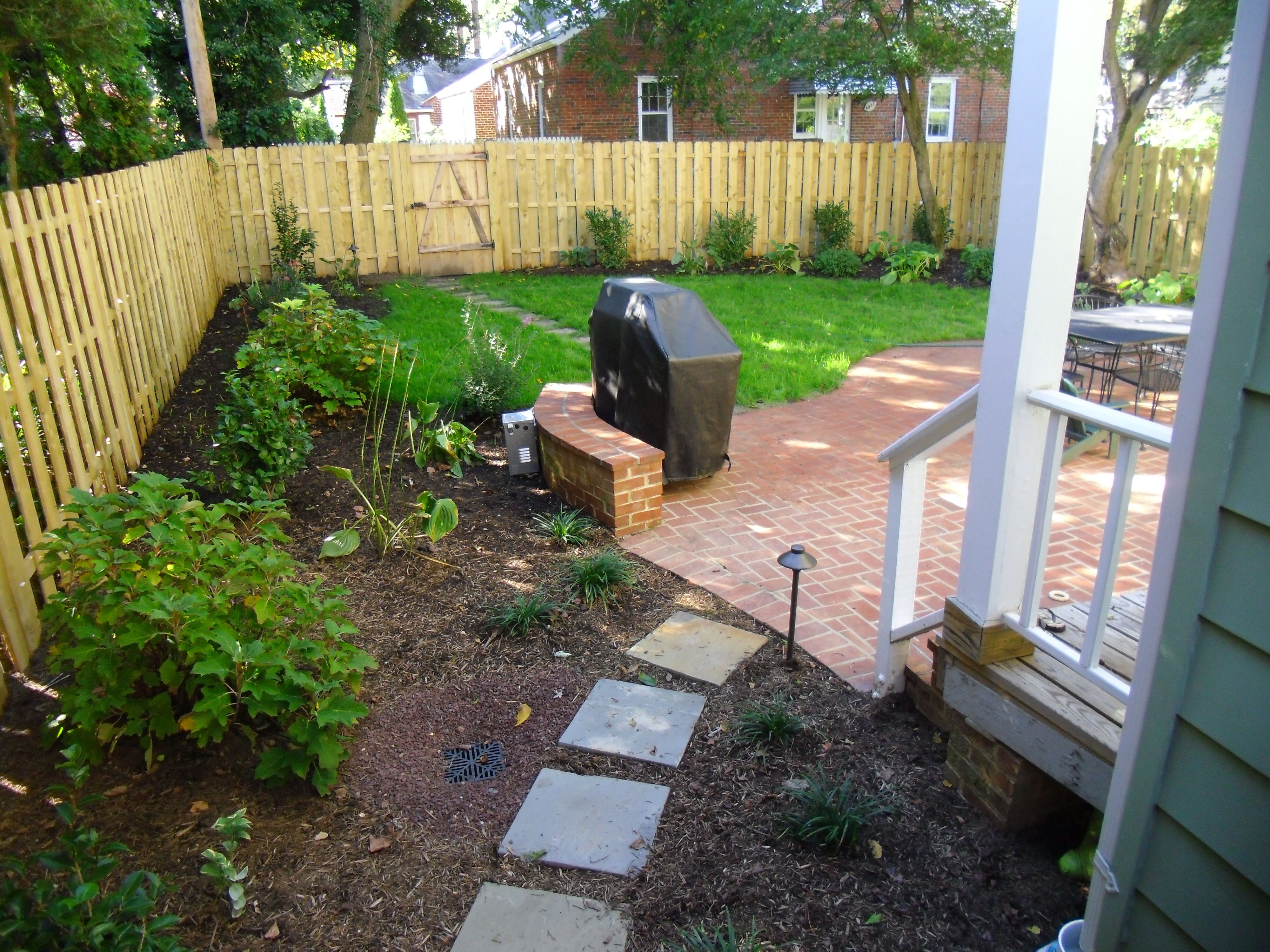 Privacy fence | Desert landscaping, Patio, Landscaping near me on Backyard Landscaping Companies Near Me id=97461