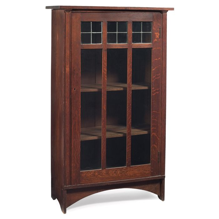 Gustav Stickley Bookcase, #700, Harvey Ellis-influenced
