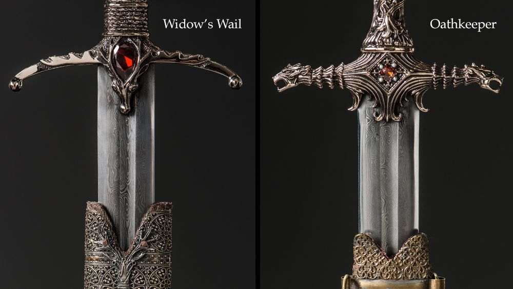 Take A Closer Look At The Props From Oathkeeper Game Of Thrones Art Hbo Game Of Thrones Game Of Thrones Fans