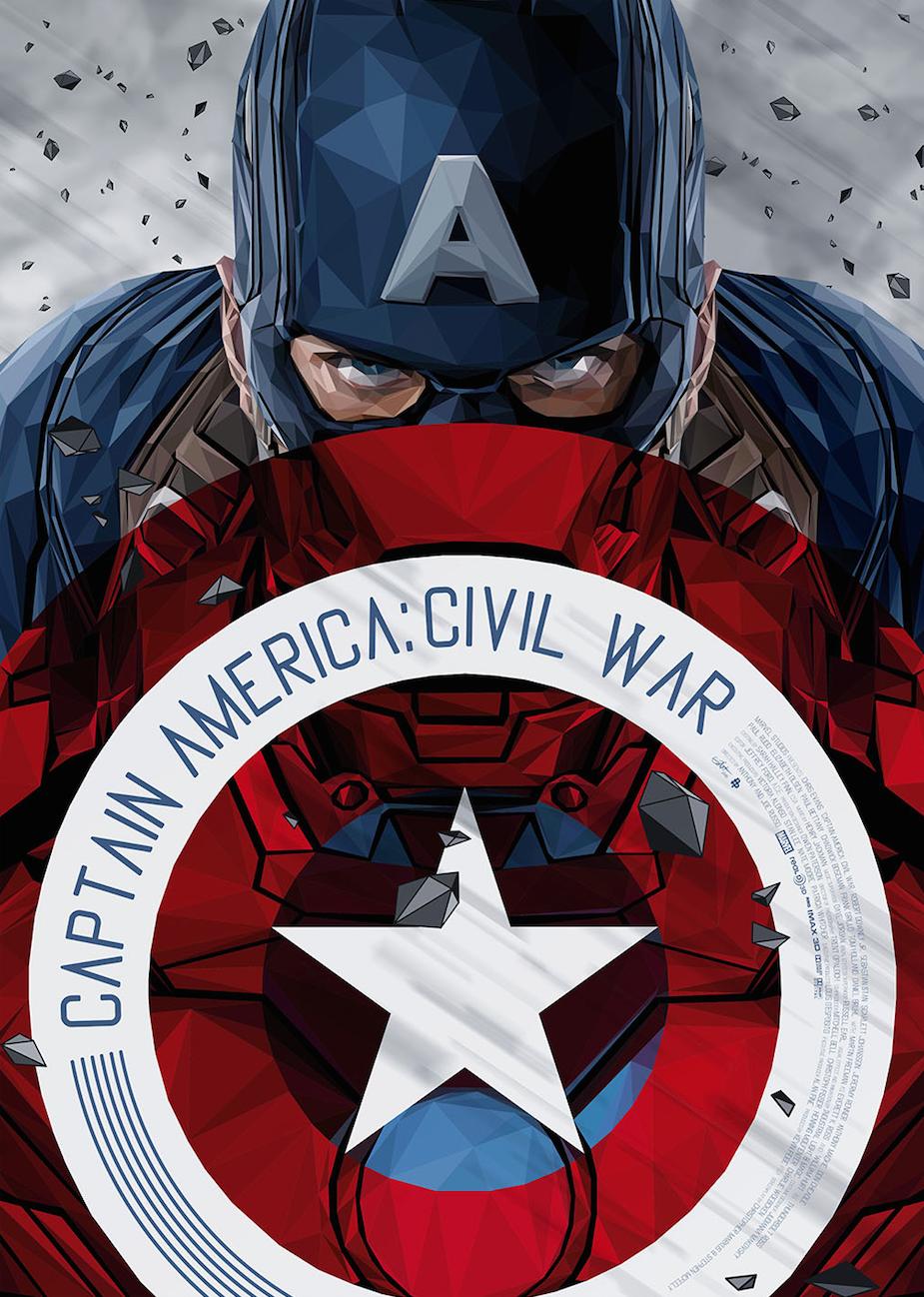 Marvel S Captain America Civil War Tribute On Behance Captain America Wallpaper Marvel Captain America Captain America Civil War