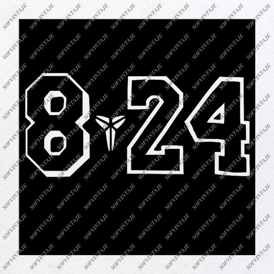 RIP Kobe Bryant Svg TShirt Black Mamba Lakers Svg