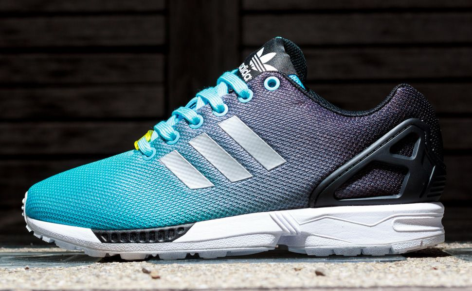 Adidas Zx Flux Black And Blue