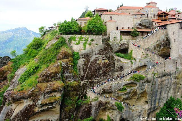 Great Meteoron Monastery Steps