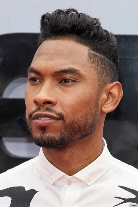 2014 black men haircuts pompadour hairstyle men