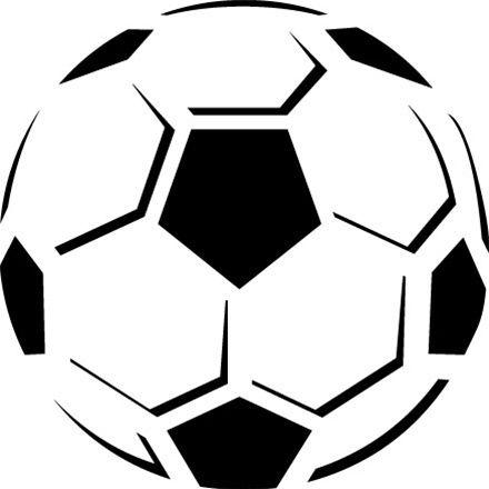 Futebol Festa Futebol Stencil Silhueta E Estampas